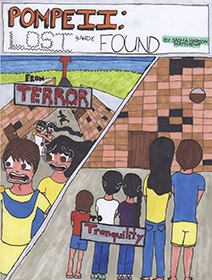 Pompeii: Lost and Found comic book cover