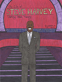 The Life of Steve Harvey comic book cover