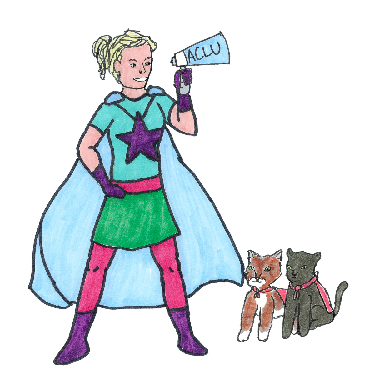 Anna Thomas and Olive and Hazel: Everyday Superheroes