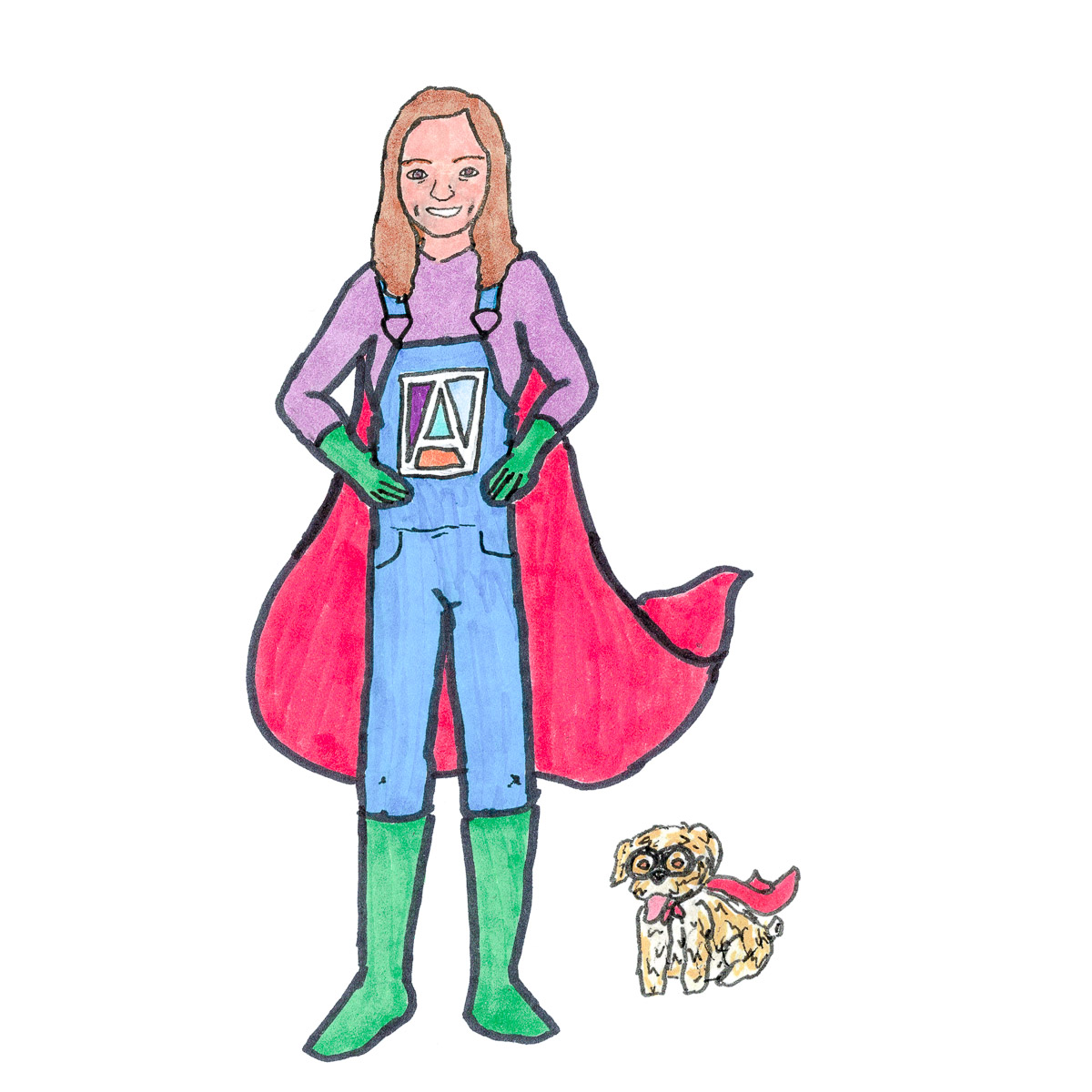 Jaime Reichner and Annie: Everyday Superheroes