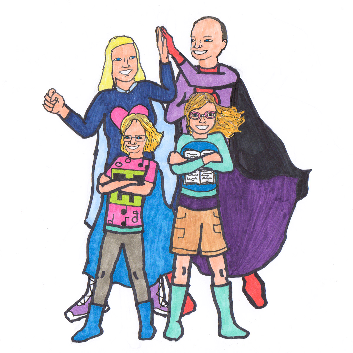 MacNeill Family: Everyday Superheroes