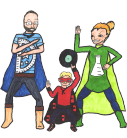 Coe Family: Everyday Superheroes