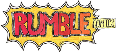 Rumble Comics logo